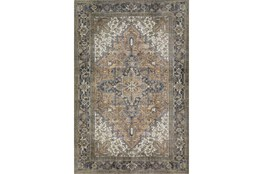 94X118 Rug-Sterling Distressed Chocolate