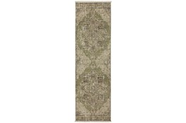 27X92 Runner Rug-Marseille Distressed Aloe
