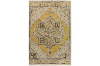 90X116 Rug-Marseille Distressed Lemon