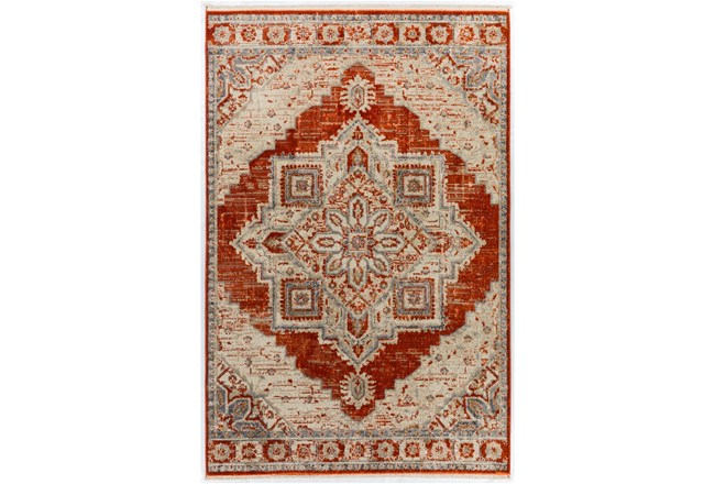 60X92 Rug-Marseille Distressed Mandarin - 360