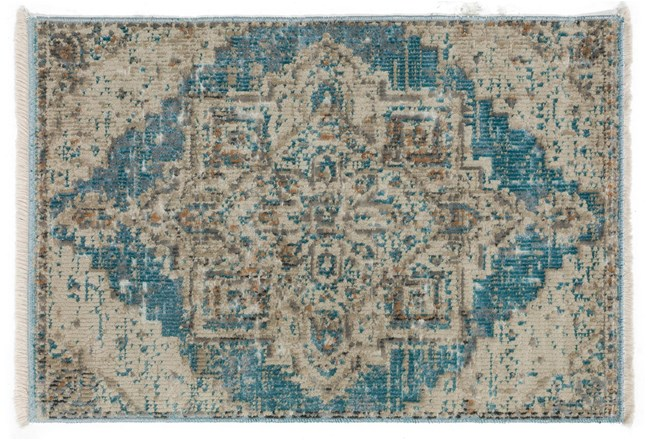24X36 Rug-Marseille Distressed Ocean - 360