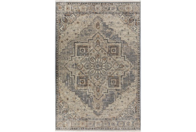 37X64 Rug-Marseille Distressed Pewter - 360