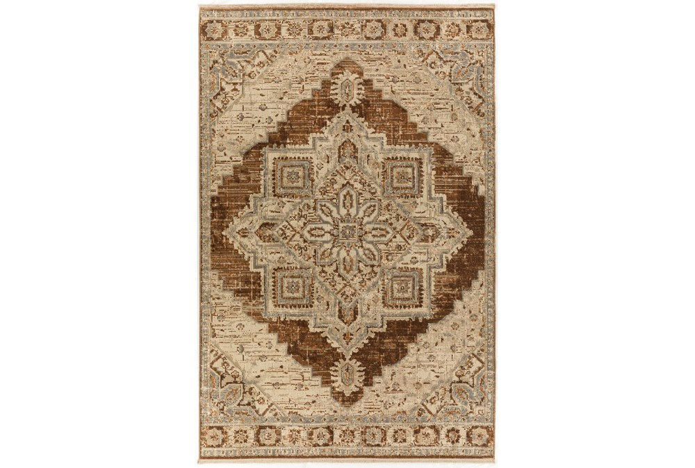 60X92 Rug-Marseille Distressed Walnut