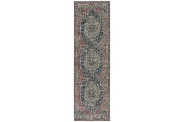 27X92 Runner Rug-Marseille Distressed Parade