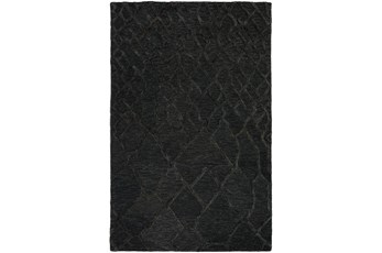 108X156 Rug-Nazca Lines Black