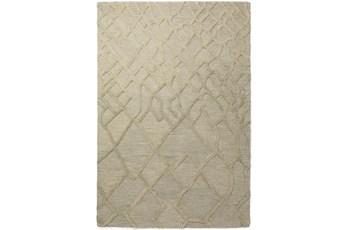 96X120 Rug-Nazca Lines Silver
