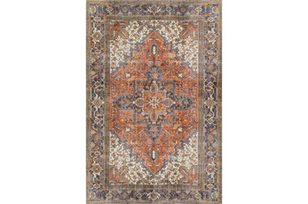 60X91 Rug-Sterling Distressed Copper