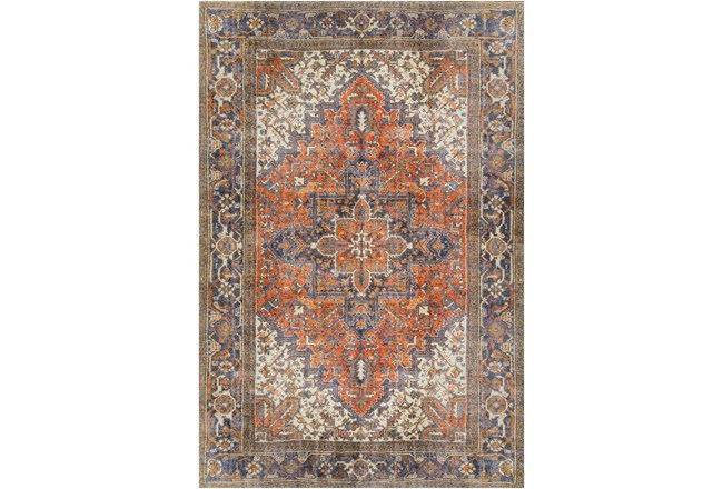 94X118 Rug-Sterling Distressed Copper - 360