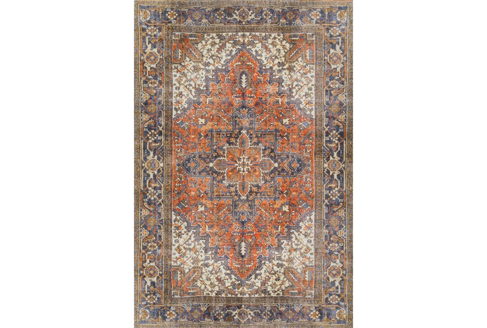 102X153 Rug-Sterling Distressed Copper