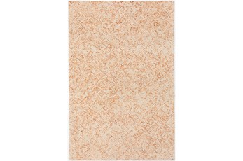 24X36 Rug-Vedara Diamonds Orange