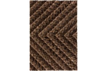 60X90 Rug-Karash Lines Chocolate
