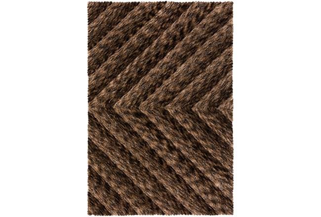 108X156 Rug-Karash Lines Chocolate - 360