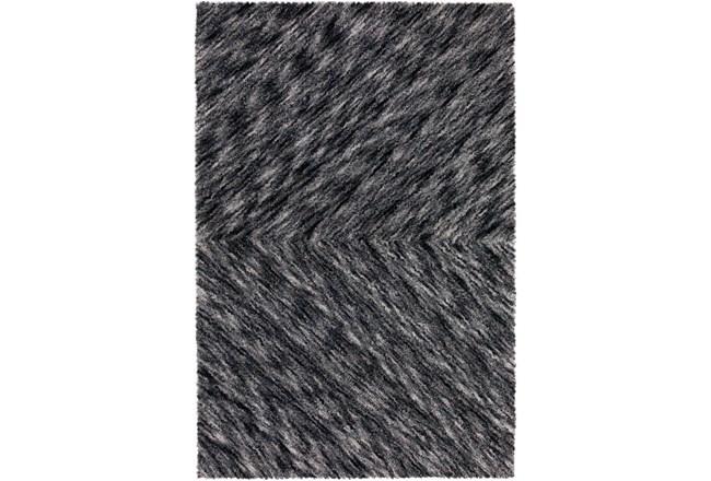 108X156 Rug-Karash Lines Midnight - 360