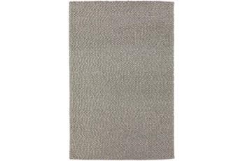 108X156 Rug-Kallan Textures Silver