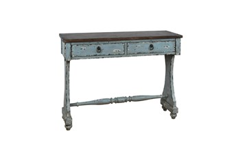 "Two Tone Entryway 48"" Console Table"