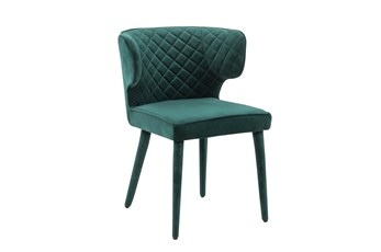 Emerald Shelter Back Dining Side Chair