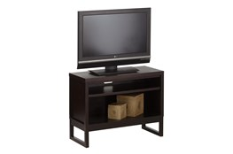 Chocolate 40 Inch Open Tv Stand