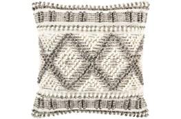 Accent Pillow-Beige Diamonds 18X18