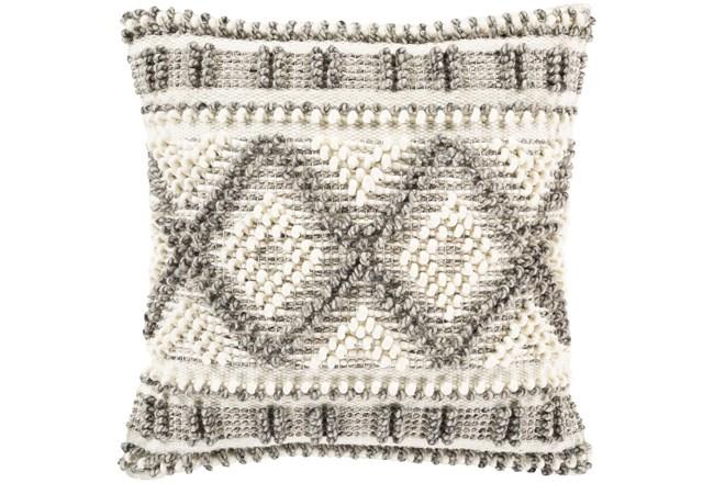 Accent Pillow-Beige Diamonds 22X22 - 360