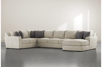 "Delano Thrillist 3 Piece 169"" Sectional With Right Arm Facing Chaise"