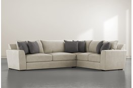 """Delano Thrillist 2 Piece 125"""" Sectional With Left Arm Facing Sofa"""