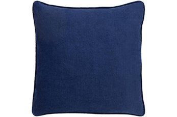 Accent Pillow-Navy Velvet 20X20