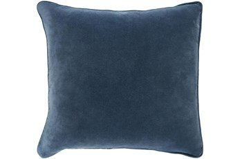 Accent Pillow-Navy Velvet 18X18
