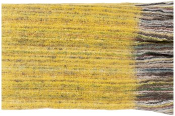 Accent Throw-Yellow Stripe