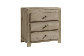 "Rustic Farmhouse 27"" Nightstand"