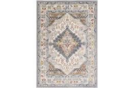 79X79 Square Rug-Traditional Multicolor
