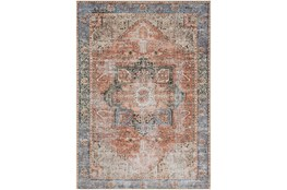 106X144 Rug-Traditional Distressed Multicolor