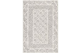 24X35 Rug-Global LoWith High Grey And Beige