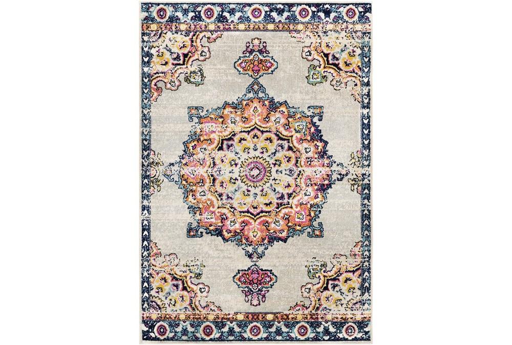 108X144 Rug-Traditional Bright Multicolored