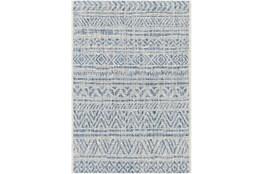 106X144 Rug-Global Denim Stripe