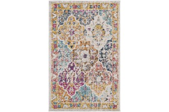 144X180 Rug-Traditional Bold Multicolor