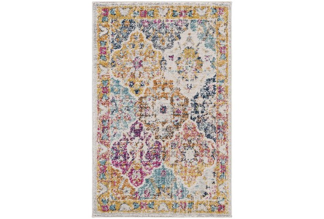 108X150 Rug-Traditional Bold Multicolor - 360