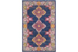 79X108 Rug-Traditional Bold Multicolor