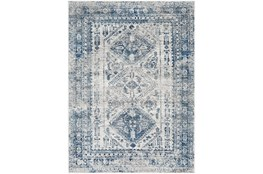 108X144 Rug-Traditional Blue