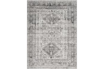 79X108 Rug-Traditional Grey
