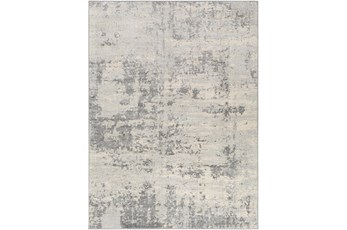 51X71 Rug-Modern Grey And Cream