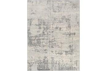 94X123 Rug-Modern Grey And Cream