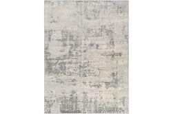 106X147 Rug-Modern Grey And Cream