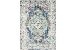 47X67 Rug-Traditional Distressed Multicolored
