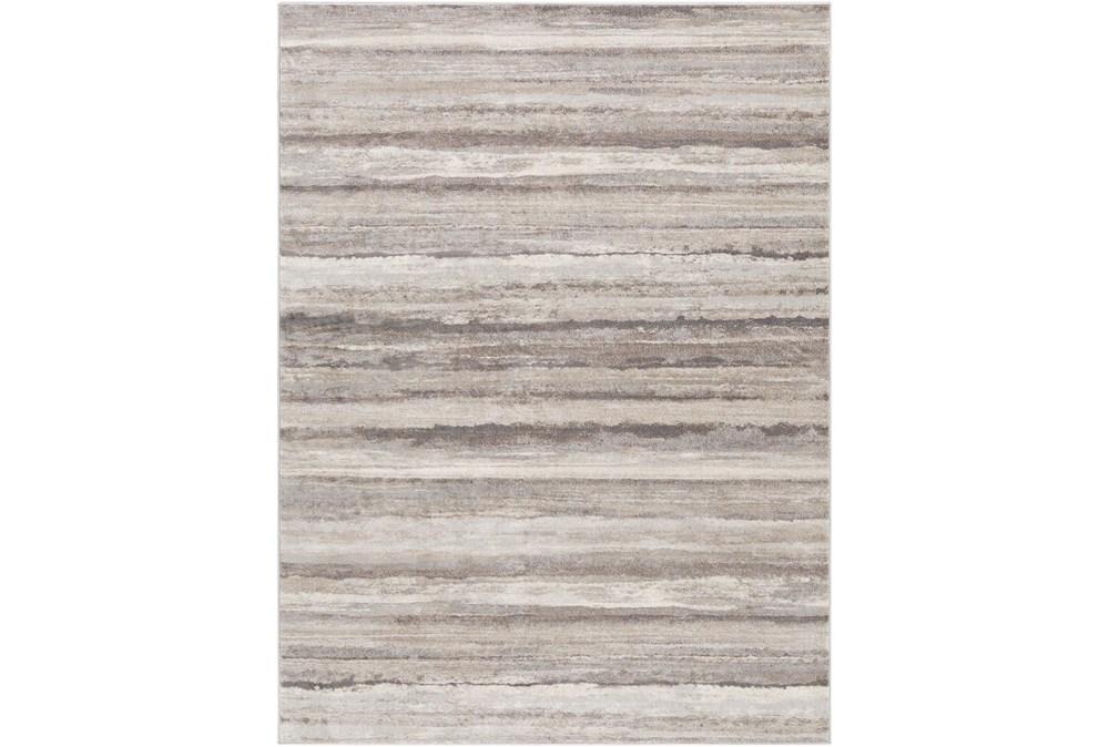 79X108 Rug-Modern Stripe Grey And Tans
