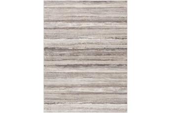108X147 Rug-Modern Stripe Grey And Tans