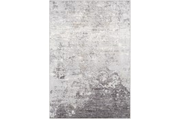 94X123 Rug-Modern Greys And White