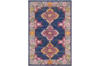 94X123 Rug-Traditional Bold Multicolor