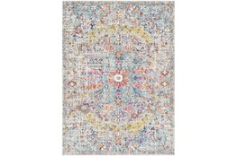 108X150 Rug-Traditional Blue/Multicolroed