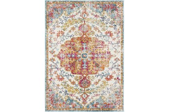 63X87 Rug-Traditional Multicolored