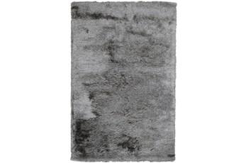 60X96 Rug-Modern Luxe Dark Gray Shag